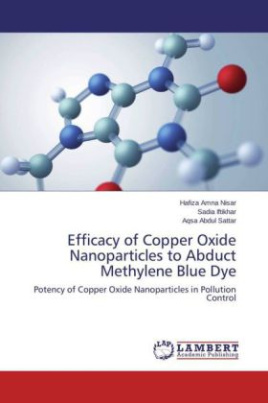 Efficacy of Copper Oxide Nanoparticles to Abduct Methylene Blue Dye