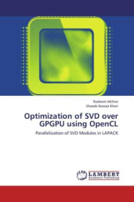 Optimization of SVD over GPGPU using OpenCL