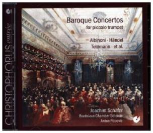 Baroque Concertos for Piccolo Trumpet, 1 Audio-CD