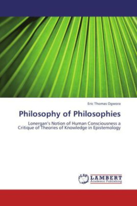 Philosophy of Philosophies
