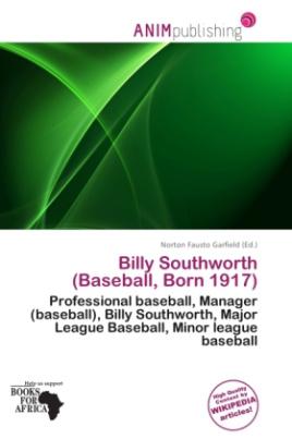 Billy Southworth (Baseball, Born 1917)