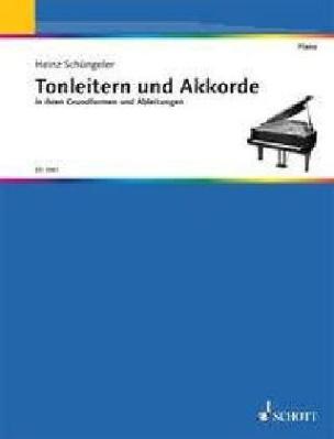 Tonleitern und Akkorde, Klavier