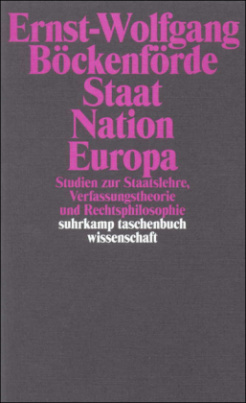 Staat, Nation, Europa