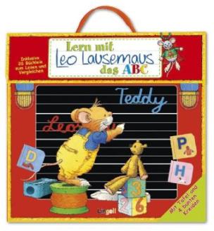 Lern mit Leo Lausemaus das ABC, Lernkoffer