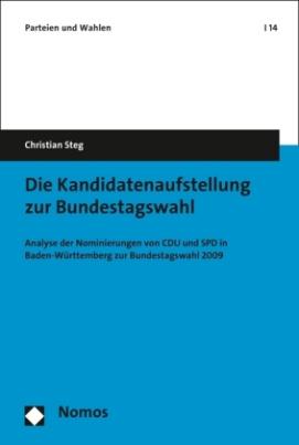 Die Kandidatenaufstellung zur Bundestagswahl