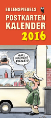 Eulenspiegels Postkartenkalender 2016