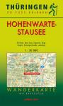 Wanderkarte mit Radrouten: Thüringen