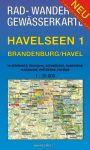 Wanderkarte Havelseen 1: Brandenburg/Havel