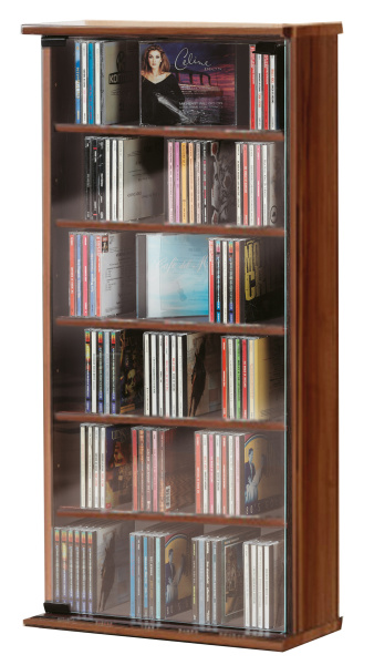 cd schrank vetro kern nussbaum f r 150 cds. Black Bedroom Furniture Sets. Home Design Ideas